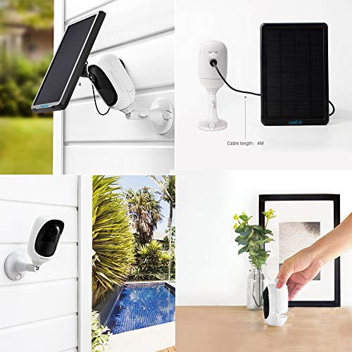 Reolink Argus Pro (Pack of 2) Rechargeable Battery Solar-Powered Outdoor Wireless Security Camera, 1080p HD Night Vision, 2-Way Audio, Alarm Alert and PIR Motion Sensor, Built-in SD Socket and Cloud by REOLINK (Image #7)