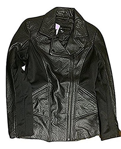 Marc New York by Andrew Marc Leather Moto Jacket, Black, ()