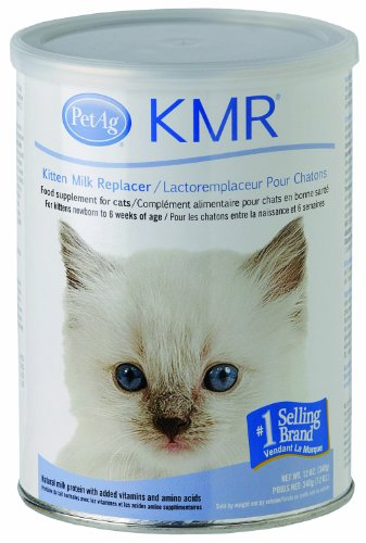 KMR® Powder for Kittens & Cats, 12oz - Kitten Nursing Kit