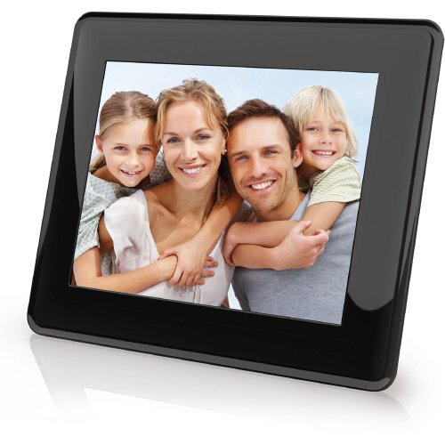 Coby DP843 8-Inch Digital Picture Frame (Black)