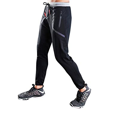 MEYINI Pantalones de Correr para Hombre Pantalones para Correr ...