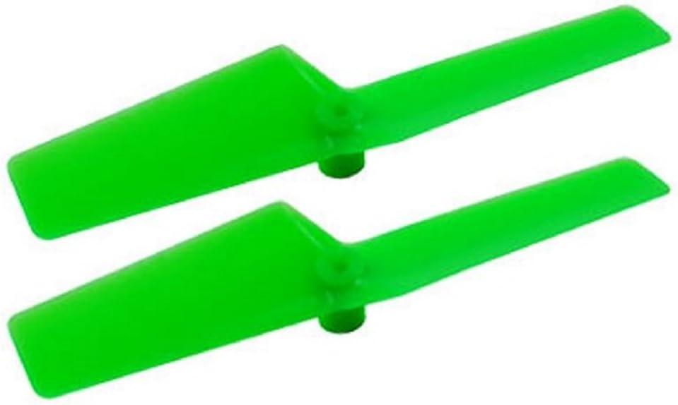MCPXBL Green BL2 Microheli Long Plastic Tail Blade 47mm