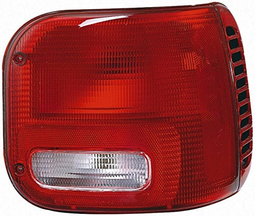 TYC 11-5347-01 Dodge Van Passenger Side Replacement Tail Light (01 Dodge B2500 Van)
