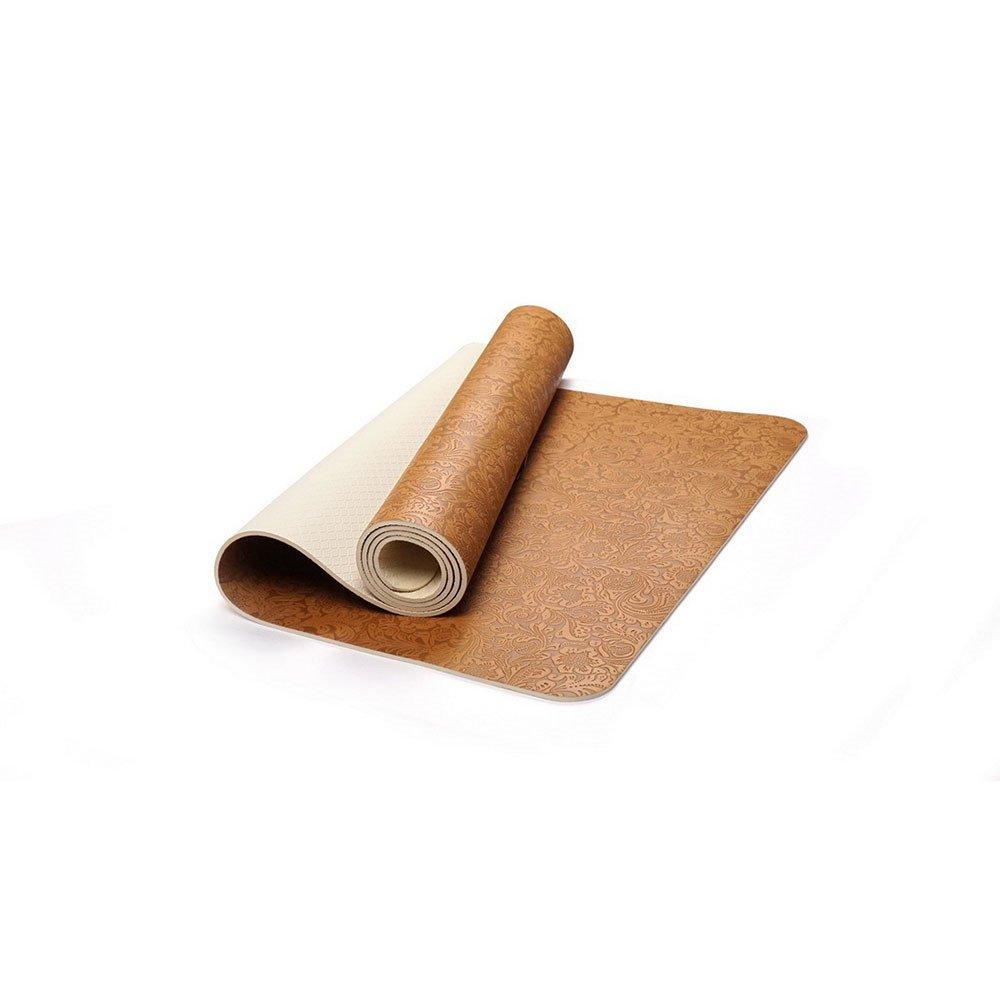 GLJ Yogamatte Umweltfreundliche Köstliche Fitness-Matte Yoga-Matte-Fitnessstudio-Familie Yoga Matte