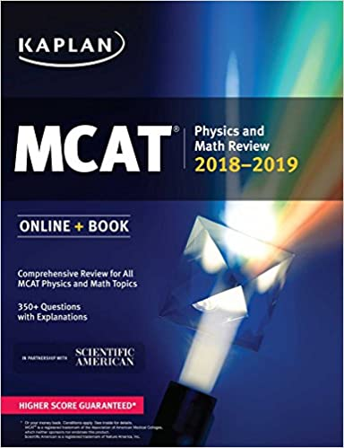 Mcat physics and math review 2018 2019 online book kaplan test mcat physics and math review 2018 2019 online book kaplan test prep 9781506223896 medicine health science books amazon fandeluxe Image collections