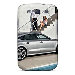 Tpu Case Cover Compatible For Galaxy S3/ Hot Case/ Auto Audi Others Audi Audi S