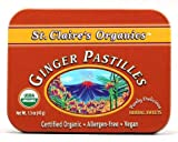 St. Claire's Organic Candy, Ginger Pastilles, 1.5