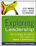 img - for Exploring Leadership, Facilitation and Activity Guide: For College Students Who Want to Make a Difference book / textbook / text book