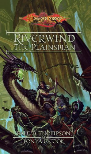 book cover of Riverwind the Plainsman