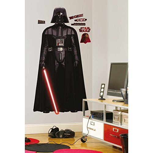 RoomMates Star Wars Classic Vadar Peel and Stick