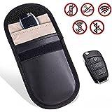 Keyfob RFID Signal Blocking Bag Faraday Cage, Key Fob Guard Protector Device Shielding, Anti-hacking Assurance For Wireless Car Keys, KeyFOBs, Keyless Entry, Car Key Remotes, Credit Card Protection
