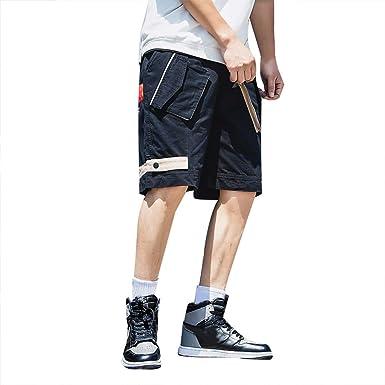 GNYD Pantalones Cortos Hombre Verano Deporte Tallas Grandes, BotóN ...