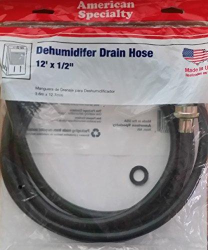 American Specialty Dehumidifier Drain Hose 12' X 1/2