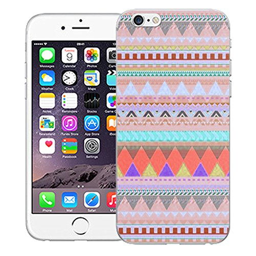 "Mobile Case Mate iPhone 6 4.7"" Silicone Coque couverture case cover Pare-chocs + STYLET - Pastel pattern (SILICON)"