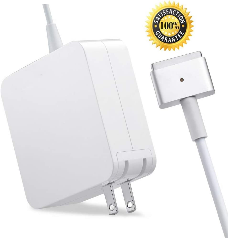 Mac Book Air Charger, AC 45W T-Tip Power Adapter Charger Replacement for MacBook Air 11/13 inch (for Mac Book Air Released After Mid 2012)