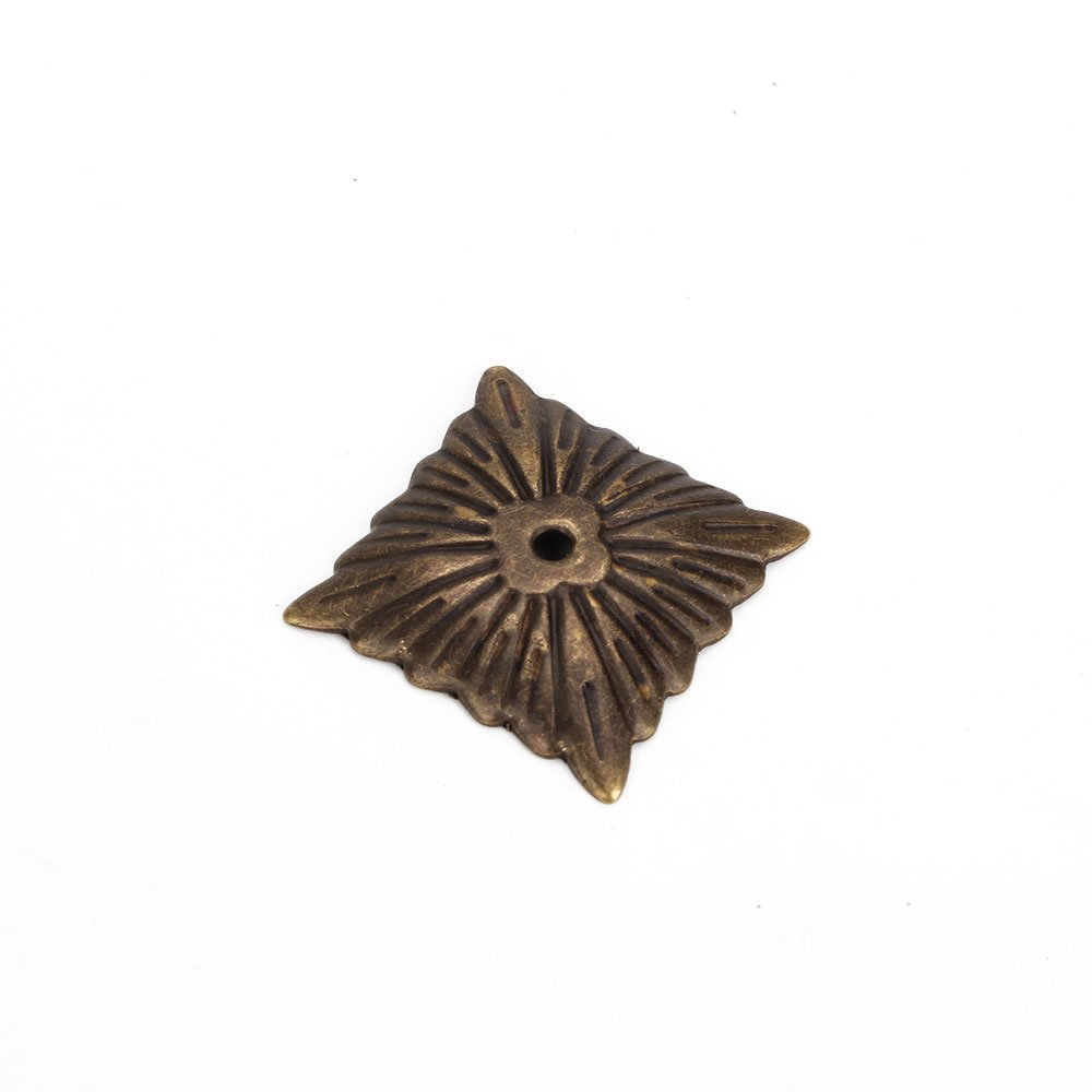 Yibuy 500pcs Iron Bronze Antique Square Upholstery Nails Hardware Tacks Studs by Yibuy (Image #5)