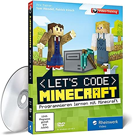 Lets Code Minecraft So Lernst Du Spielend Programmieren Ganz - Minecraft spiele ohne plugin