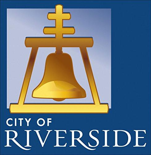 amazon com square city of riverside bell logo sticker decal rh amazon com Riverside Bell Logo and Name UC Riverside Logo