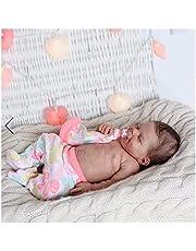 Reborn Baby, 18in Newborn Doll, Vinyl Silicone Baby Born - Children Kids Gift Set