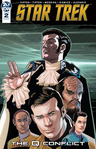 Pdf Graphic Novels Star Trek: The Q Conflict #2 (of 6)