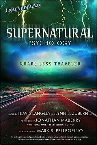Amazon Com Supernatural Psychology Roads Less Traveled Popular