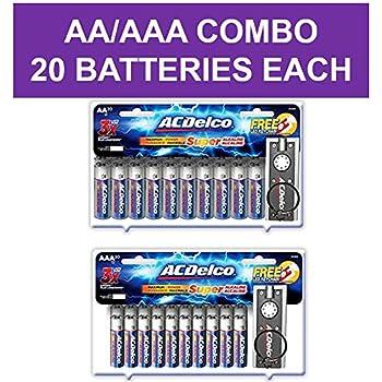 Amazon.com: AA Batteries, 24 Count - Energizer MAX Premium