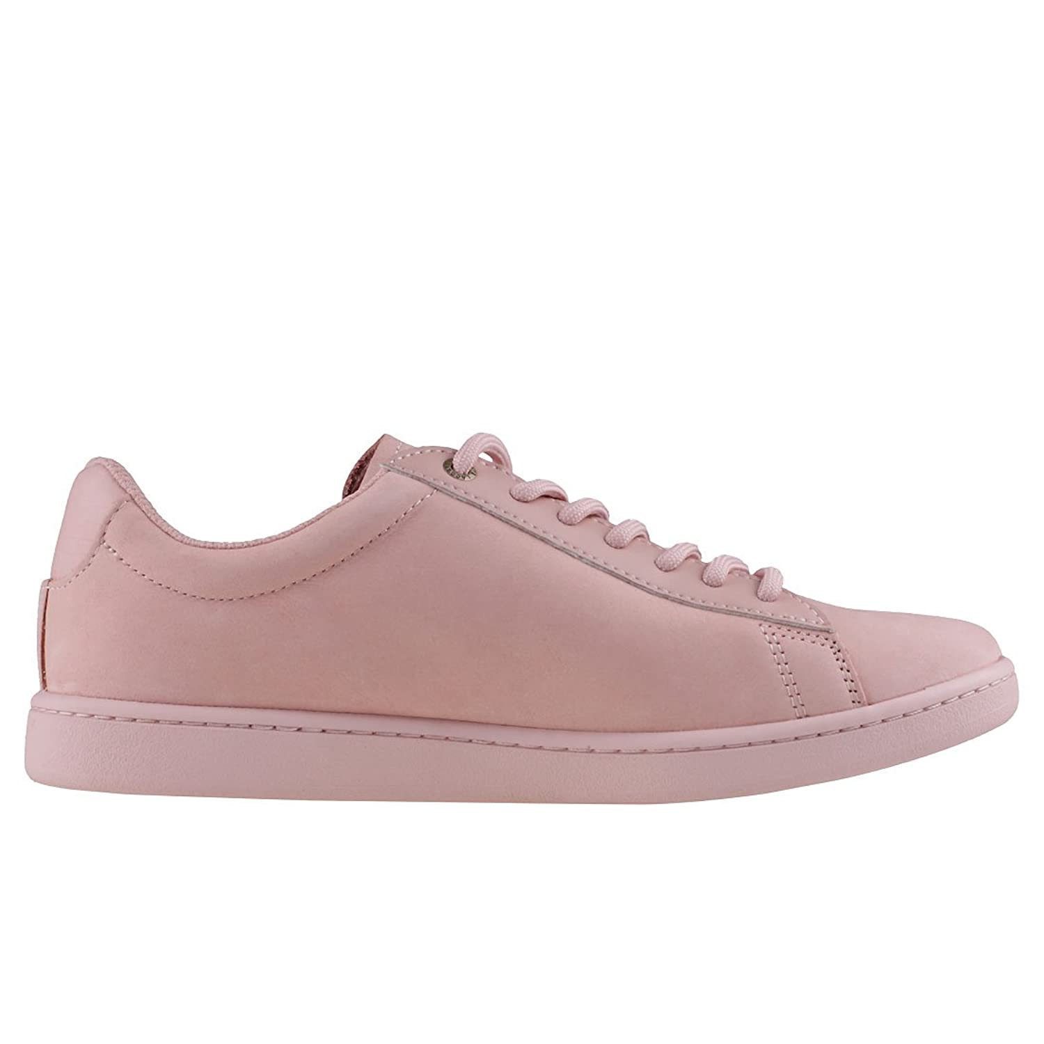 6838fbf73a Lacoste Carnaby Evo Trainers Pink: Amazon.co.uk: Shoes & Bags