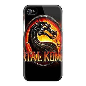 Special Design Back Mortal Kombat 9 Phone Case Cover For Iphone 4/4s