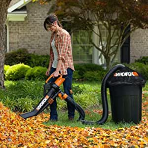 Amazon Com Worx Trivac Blower Amp Mulcher With Leaf Pro