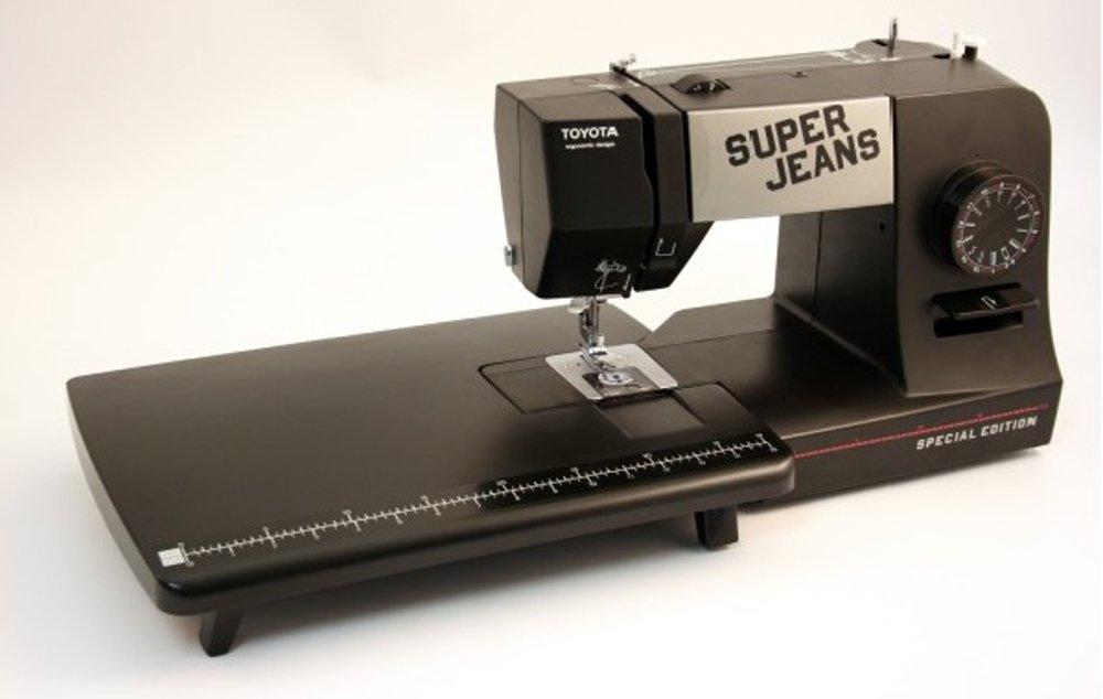 Toyota ET-B - Mesa de ampliación (para máquinas de coser SP y ECO), color negro: Amazon.es: Hogar