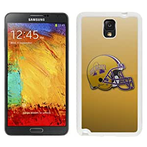 Fashionable And Unique Designed With NCAA Colonial Athletic Association CAA Football Albany Great Danes 6 Protective Cell Phone Hardshell Cover Case For Samsung Galaxy Note 3 N900A N900V N900P N900T White