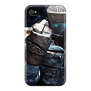 AaronBlanchette Iphone 4/4s Best Hard Phone Cover Allow Personal Design Trendy Atom In Real Steel Skin [smI10169hKHQ]