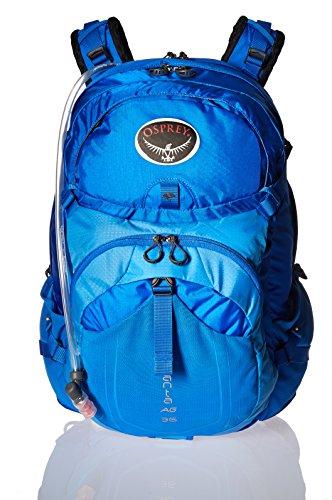 Osprey Packs Manta AG 36 Hydration Pack, Sonic Blue, Medium/Large
