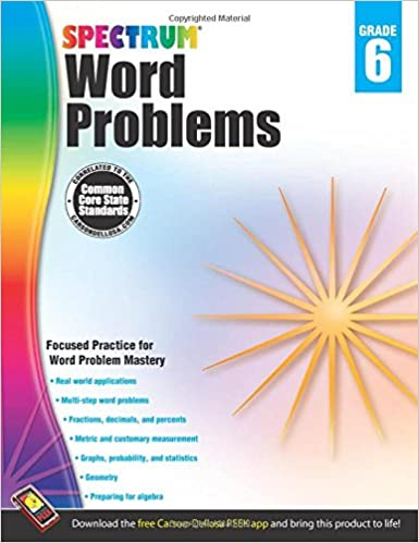 Download Word Problems, Grade 6 (Spectrum) PDF, azw (Kindle), ePub, doc, mobi