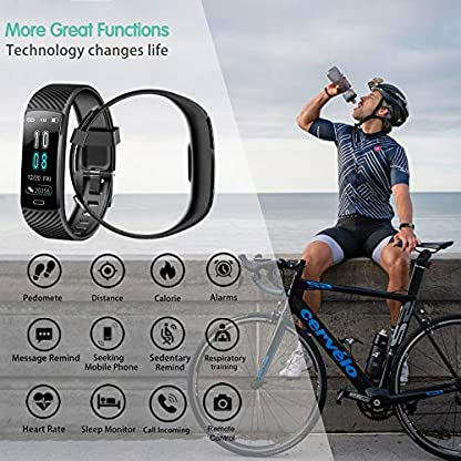 Fitness Tracker - Activity Tracker Watch with Heart Rate and Sleep Monitor, Waterproof Watch with Alarm Clock, Calorie… 2