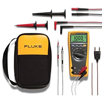 fluke 179 eda2 6 piece industrial electronics multimeter combo kit rh amazon com fluke 26 iii true rms multimeter user manual fluke 26 iii service manual