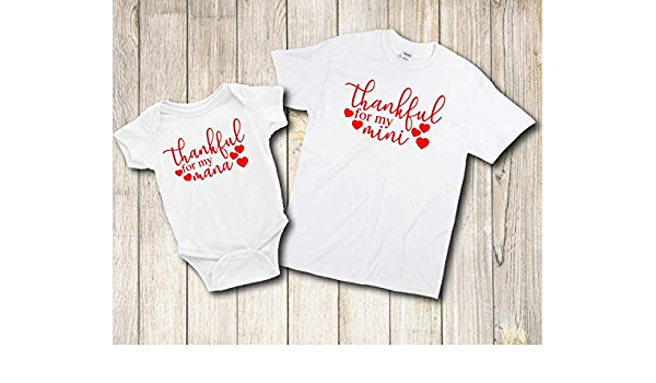 mini mommy and me matching Mama marching family shirts It/'s the little things Mommy and Me matching shirt set