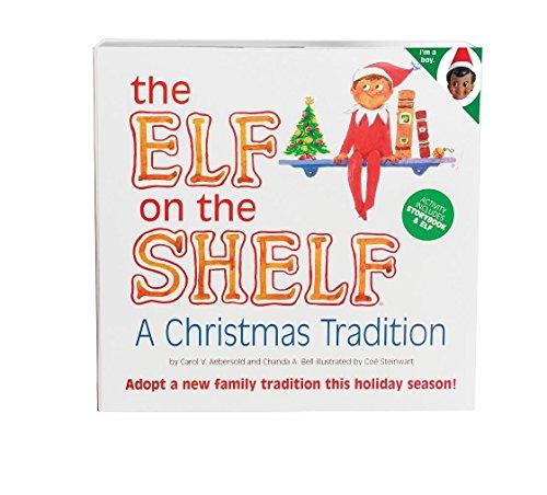The Elf on the Shelf Box Set including Boy Scout Elf