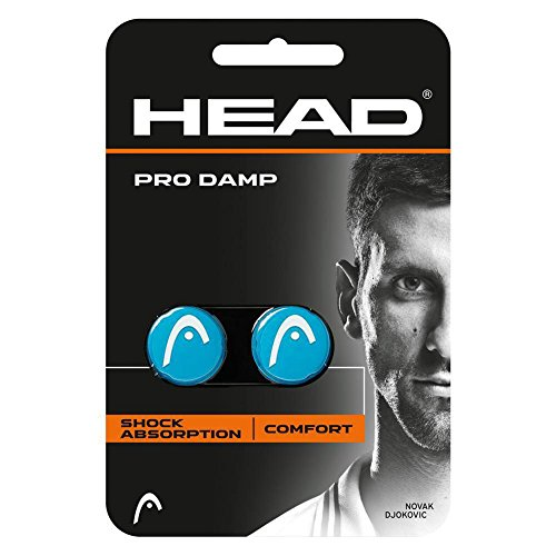 HEAD Pro Damp - Tennis Racquet Vibration Dampeners (Blue/White)