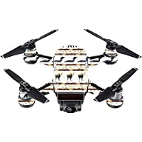 Skin For DJI Spark Mini – Lodge Stripes   MightySkins Protective, Durable, and Unique Vinyl Decal wrap cover   Easy To Apply, Remove, and Change Styles   Made in the USA