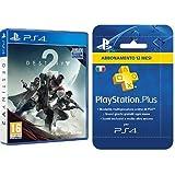 Destiny 2 + DLC Esclusivo Amazon + PS Plus Abbonamento 12 mesi