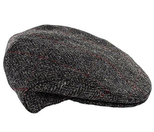 Mucros Weavers Trinity Tweed Flat Cap (Small) ()