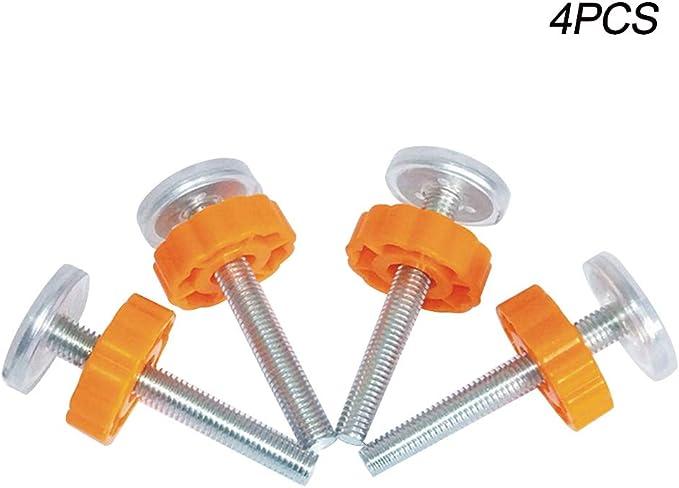 Tiges Pression Fixation par Pression Baby Gates Vis tiges ilet/ées pour Barri/ères d/'escaliers et de Portes Kit