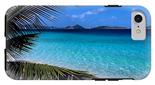 "Price comparison product image iPhone 8 Case ""Saloman Beach - St. John"" by Pixels"