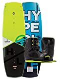 Hyperlite 2017 Baseline 136cm Wakeboard BWF w/ Team Men's OT Size 7-10.5 Boots Kit