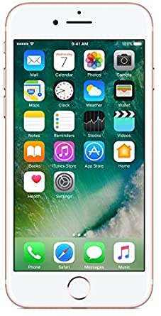Apple iPhone 7 (Rose Gold, 32GB) Smartphones at amazon
