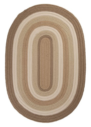 Colonial Mills BN89R132X168 Brooklyn Area Rug, 11x14, Natural made in New England