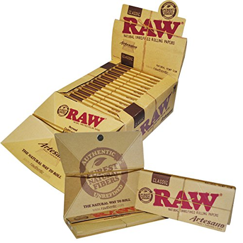 RAW Artesano Kingsize Slim (Tray, Papers, and Tips) 15ct./box