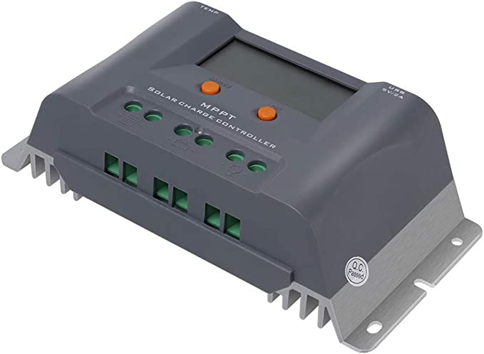 HQST 10A 12V MPPT Solar Charge Controller
