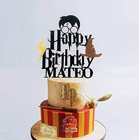 KISKISTONITE Harry Potter - Decoración para tartas, diseño ...